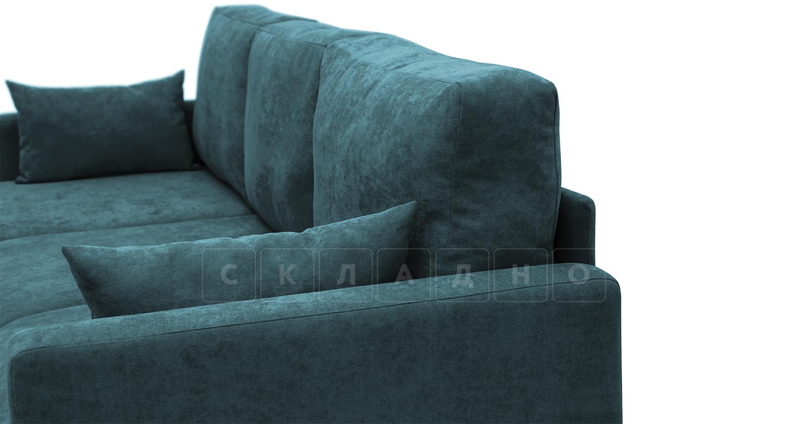 Угловой диван Дарвин бирюзовый фото 13   интернет-магазин Складно
