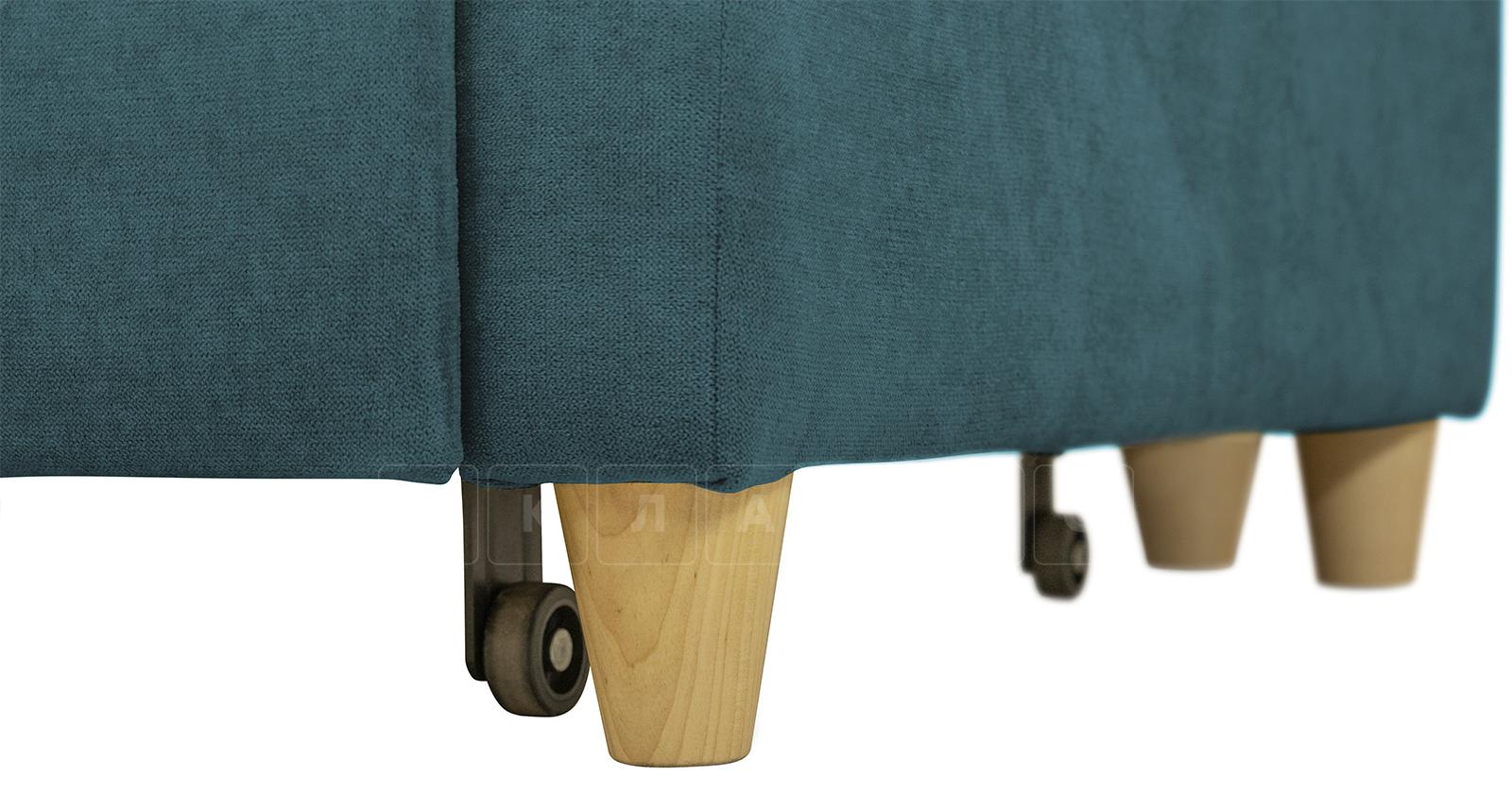 Угловой диван Дарвин бирюзовый фото 15   интернет-магазин Складно