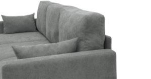 Угловой диван Дарвин серый 55500 рублей, фото 11 | интернет-магазин Складно