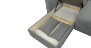 Угловой диван Дарвин серый 55500 рублей, фото 14 | интернет-магазин Складно