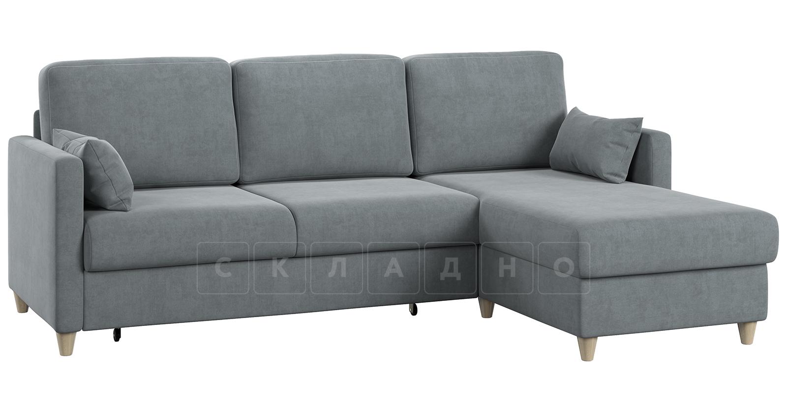 Угловой диван Дарвин серый фото 16 | интернет-магазин Складно