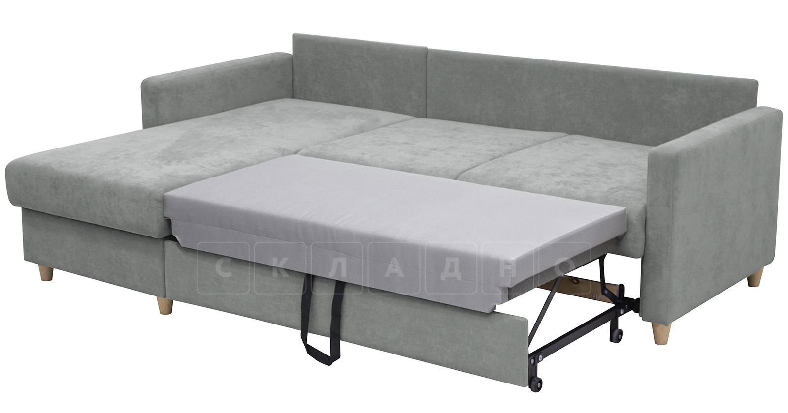 Угловой диван Дарвин серый фото 6 | интернет-магазин Складно