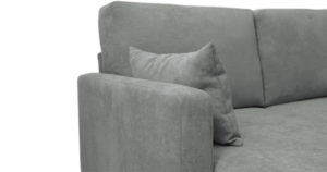Угловой диван Дарвин серый 55500 рублей, фото 9 | интернет-магазин Складно