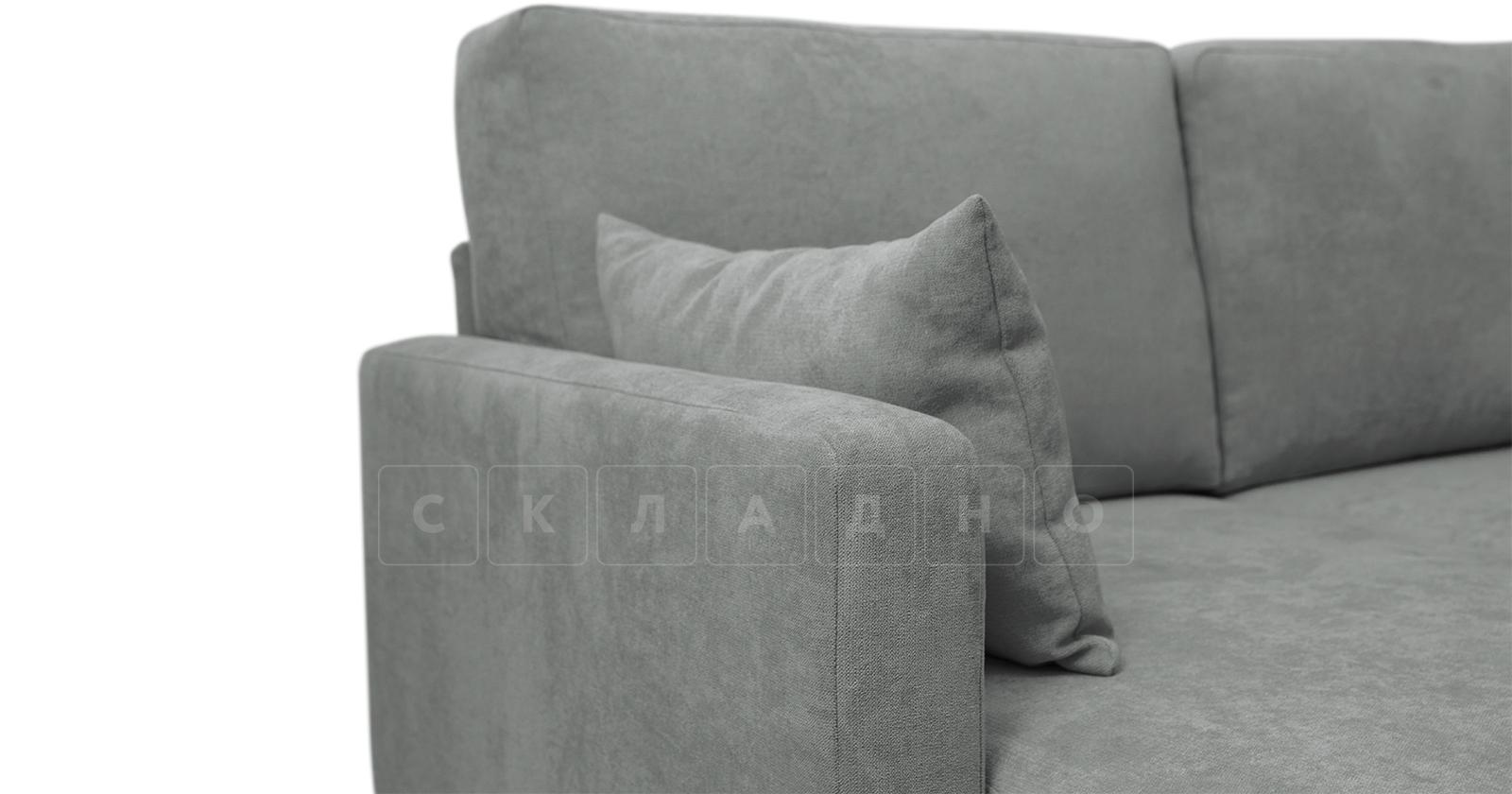 Угловой диван Дарвин серый фото 9 | интернет-магазин Складно