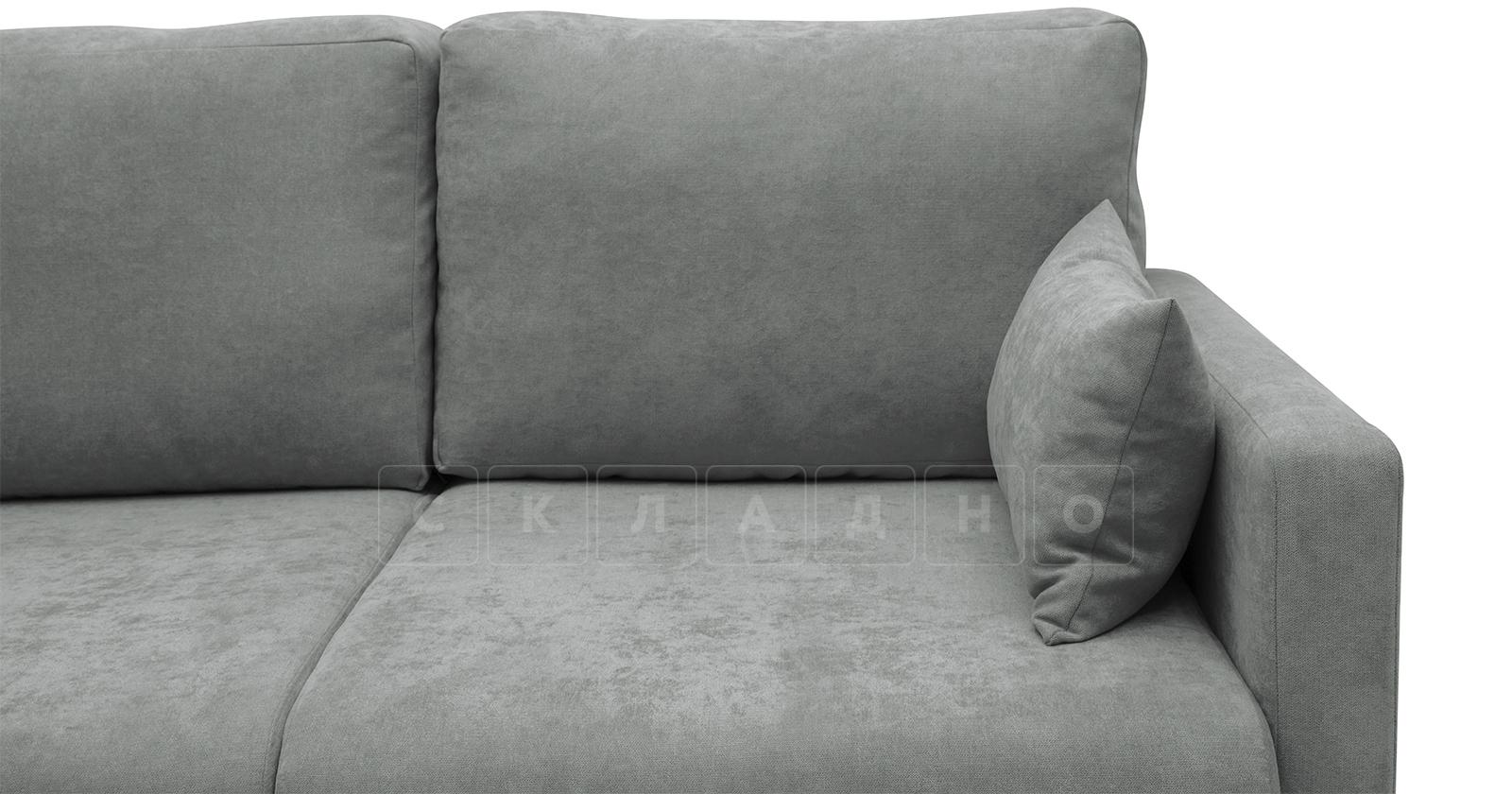 Угловой диван Дарвин серый фото 10 | интернет-магазин Складно