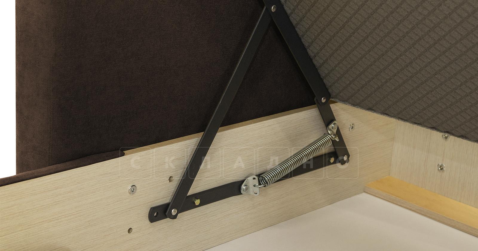 Угловой диван Дарвин коричневый фото 14   интернет-магазин Складно