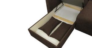 Угловой диван Дарвин коричневый 52790 рублей, фото 15   интернет-магазин Складно
