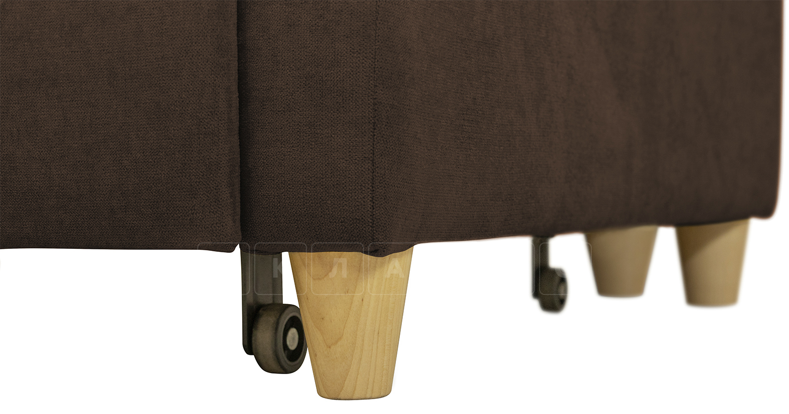 Угловой диван Дарвин коричневый фото 16   интернет-магазин Складно