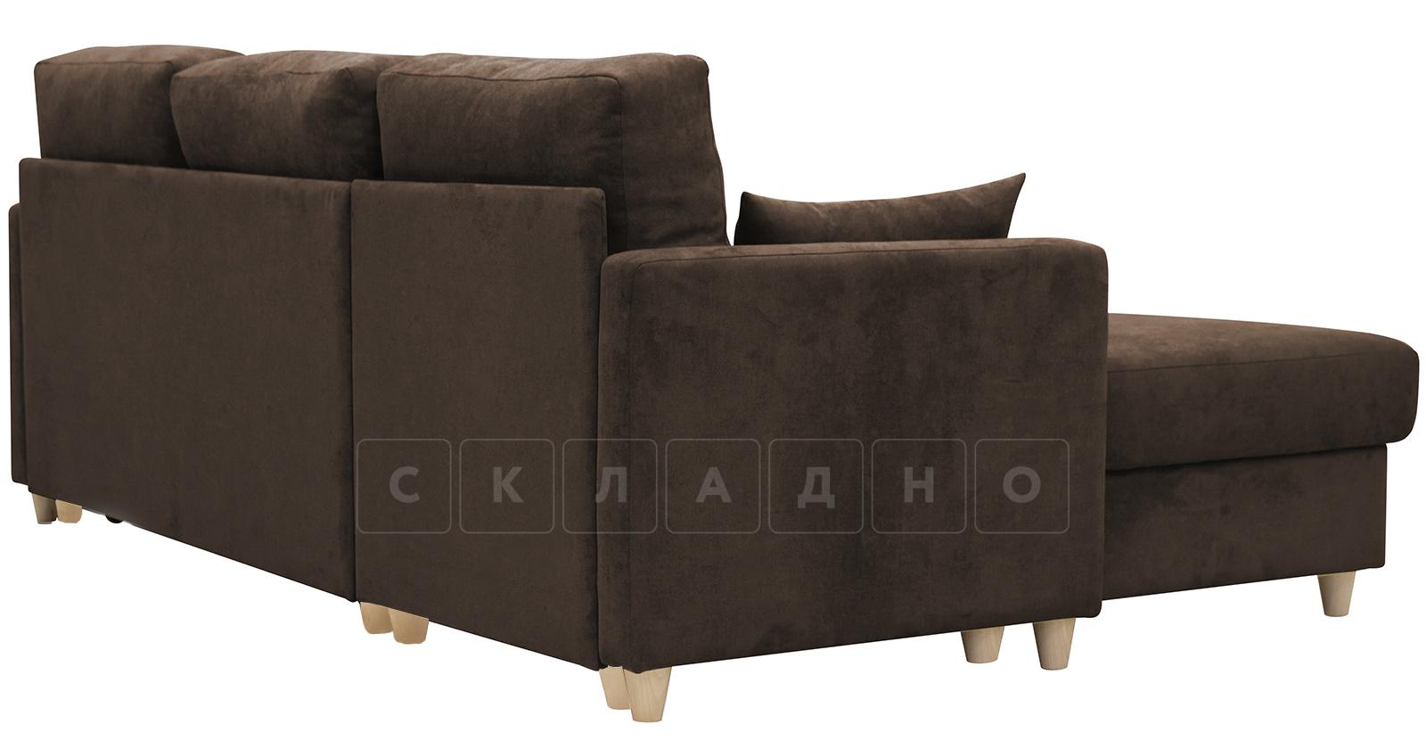 Угловой диван Дарвин коричневый фото 5   интернет-магазин Складно