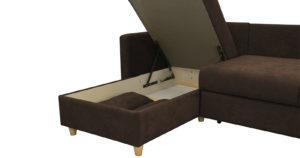 Угловой диван Дарвин коричневый 52790 рублей, фото 8   интернет-магазин Складно