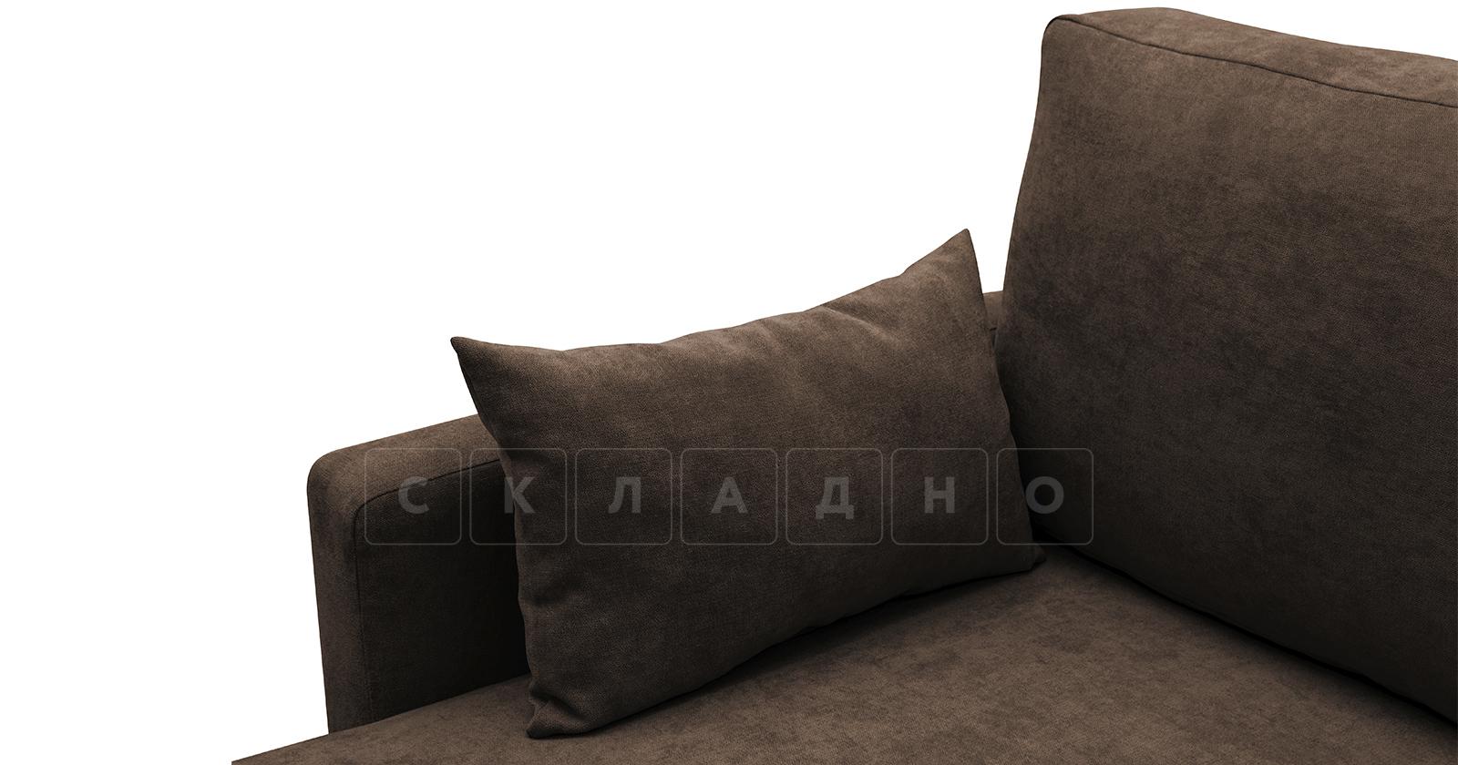 Угловой диван Дарвин коричневый фото 9   интернет-магазин Складно