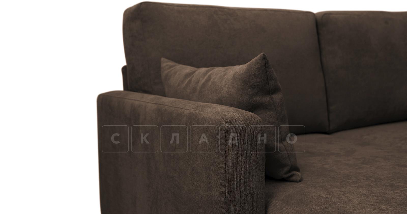 Угловой диван Дарвин коричневый фото 10   интернет-магазин Складно