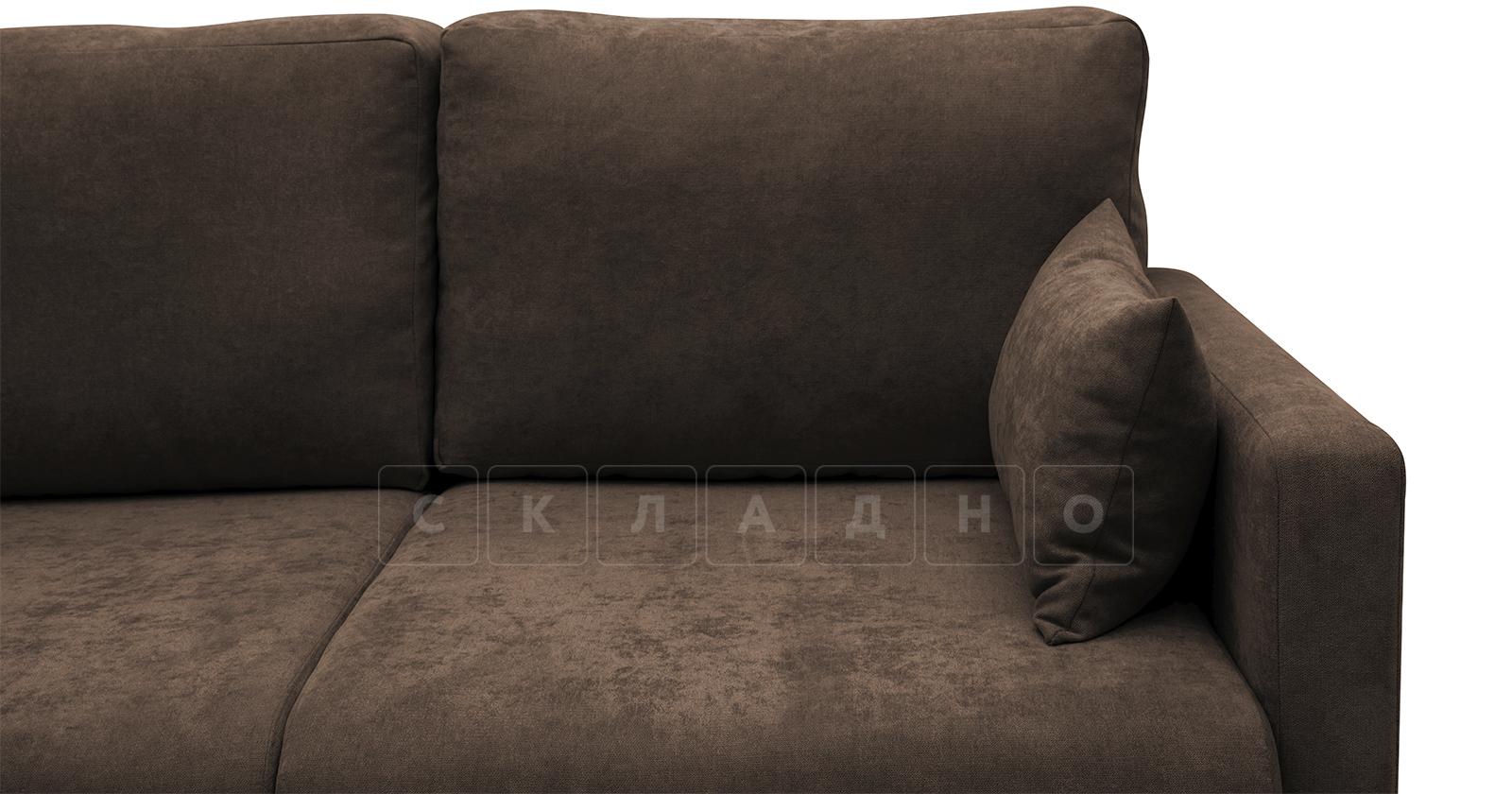 Угловой диван Дарвин коричневый фото 11   интернет-магазин Складно