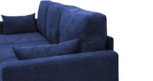 Угловой диван Дарвин темно-синий 55500 рублей, фото 11 | интернет-магазин Складно