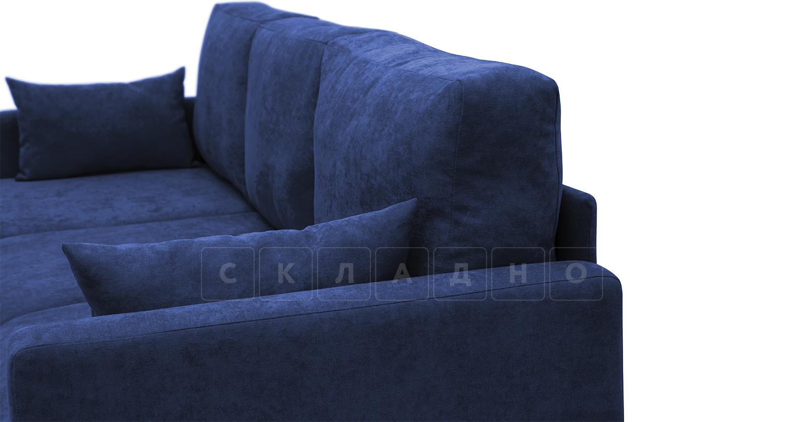 Угловой диван Дарвин темно-синий фото 11 | интернет-магазин Складно