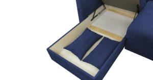 Угловой диван Дарвин темно-синий 55500 рублей, фото 14 | интернет-магазин Складно