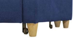 Угловой диван Дарвин темно-синий 55500 рублей, фото 15 | интернет-магазин Складно
