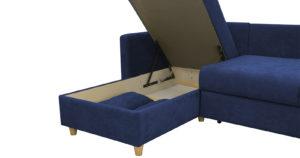 Угловой диван Дарвин темно-синий 55500 рублей, фото 7 | интернет-магазин Складно