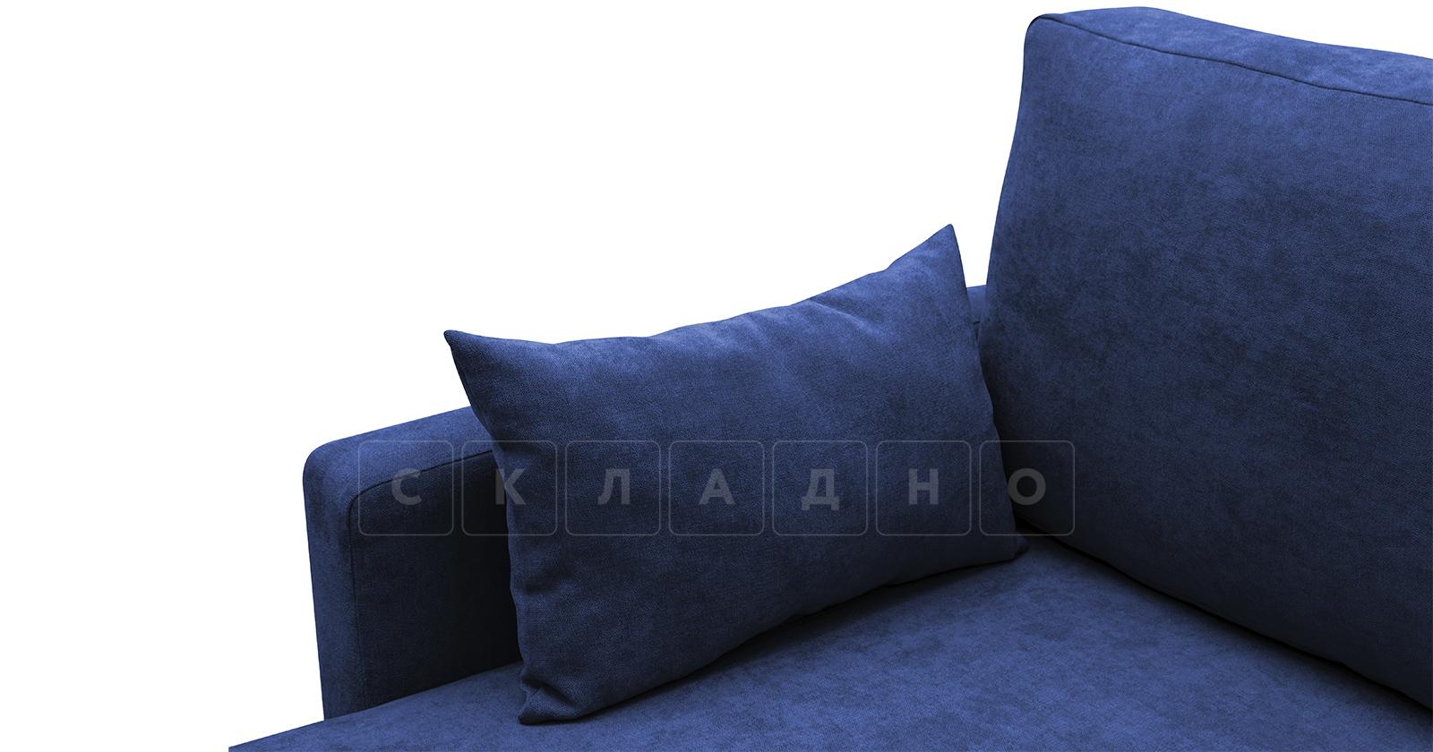 Угловой диван Дарвин темно-синий фото 8 | интернет-магазин Складно