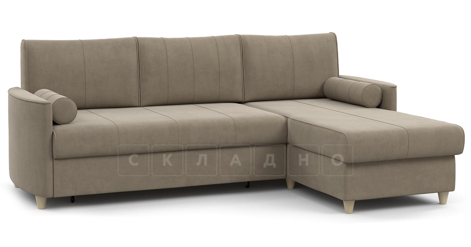 Угловой диван Лорен песочный фото 1 | интернет-магазин Складно