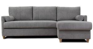 Угловой диван Лорен серебристый серый 54990 рублей, фото 2 | интернет-магазин Складно