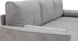 Угловой диван Лорен серебристый серый 54990 рублей, фото 12 | интернет-магазин Складно