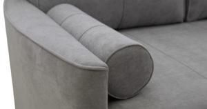 Угловой диван Лорен серебристый серый 54990 рублей, фото 11 | интернет-магазин Складно