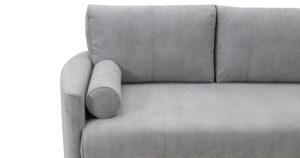 Угловой диван Лорен серебристый серый 54990 рублей, фото 14 | интернет-магазин Складно
