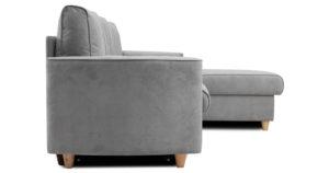 Угловой диван Лорен серебристый серый 54990 рублей, фото 4 | интернет-магазин Складно