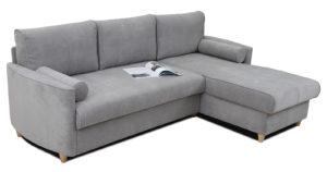 Угловой диван Лорен серебристый серый 54990 рублей, фото 3 | интернет-магазин Складно