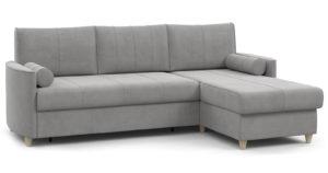 Угловой диван Лорен серебристый серый  54990  рублей, фото 1 | интернет-магазин Складно