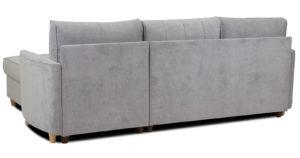 Угловой диван Лорен серебристый серый 54990 рублей, фото 5 | интернет-магазин Складно