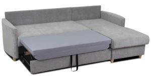 Угловой диван Лорен серебристый серый 54990 рублей, фото 6 | интернет-магазин Складно