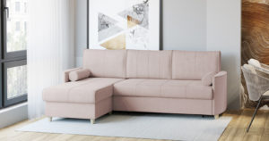 Угловой диван Лорен пудровый 54990 рублей, фото 2   интернет-магазин Складно
