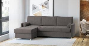 Угловой диван Лорен серо-коричневый 54990 рублей, фото 2   интернет-магазин Складно
