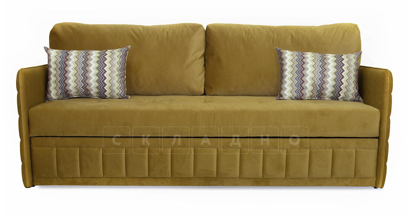 Диван-кровать Дикси горчичный фото 2   интернет-магазин Складно