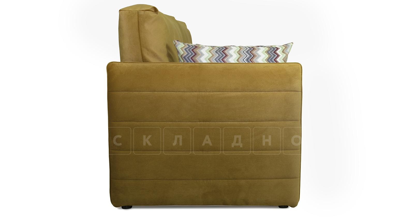 Диван-кровать Дикси горчичный фото 3   интернет-магазин Складно