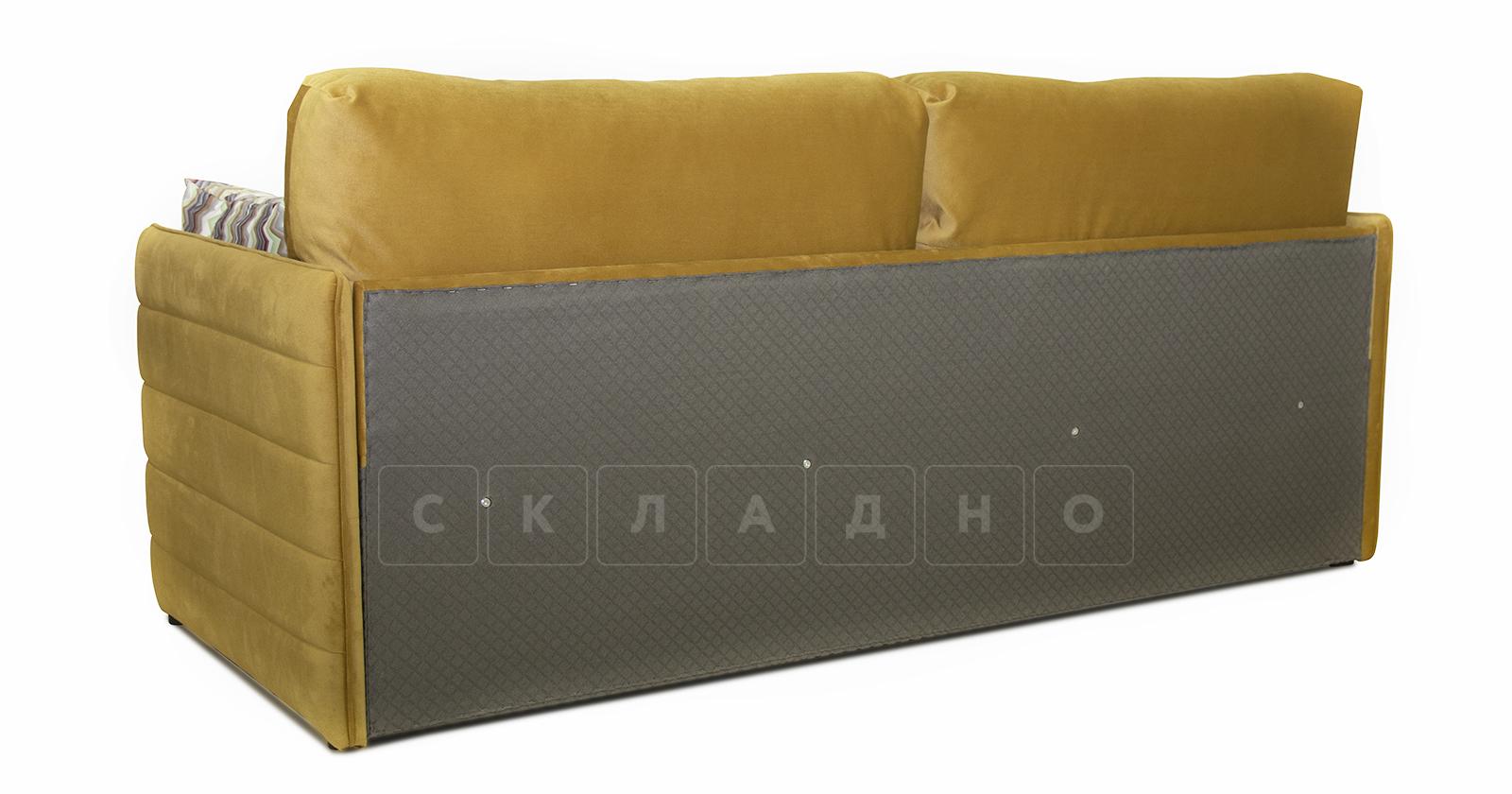 Диван-кровать Дикси горчичный фото 4   интернет-магазин Складно