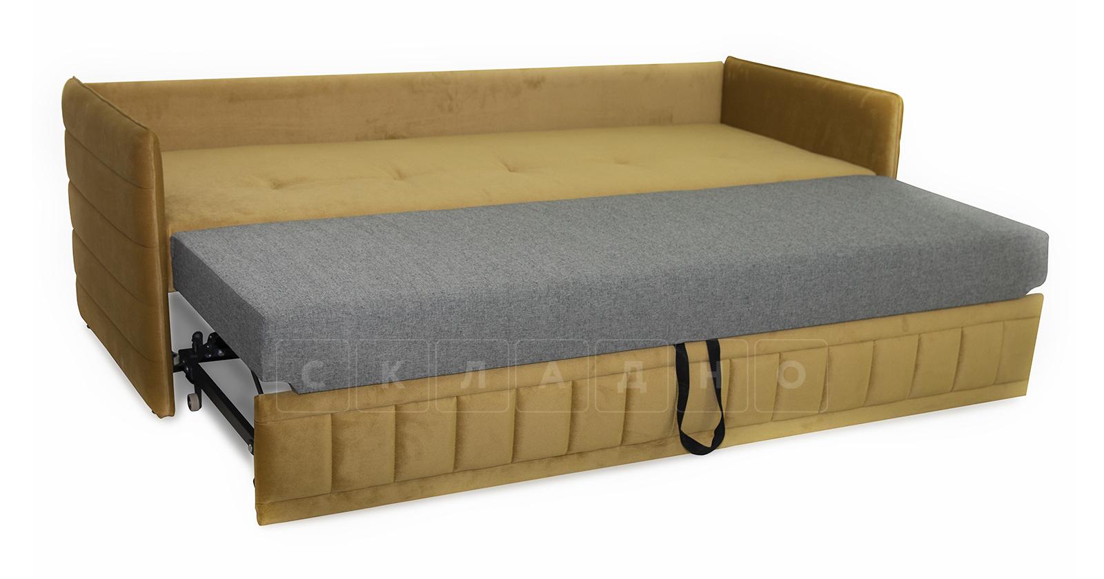 Диван-кровать Дикси горчичный фото 5   интернет-магазин Складно