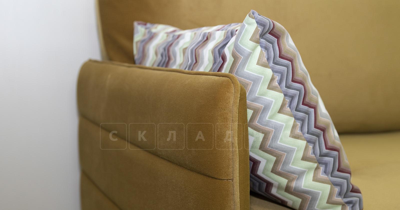 Диван-кровать Дикси горчичный фото 7   интернет-магазин Складно
