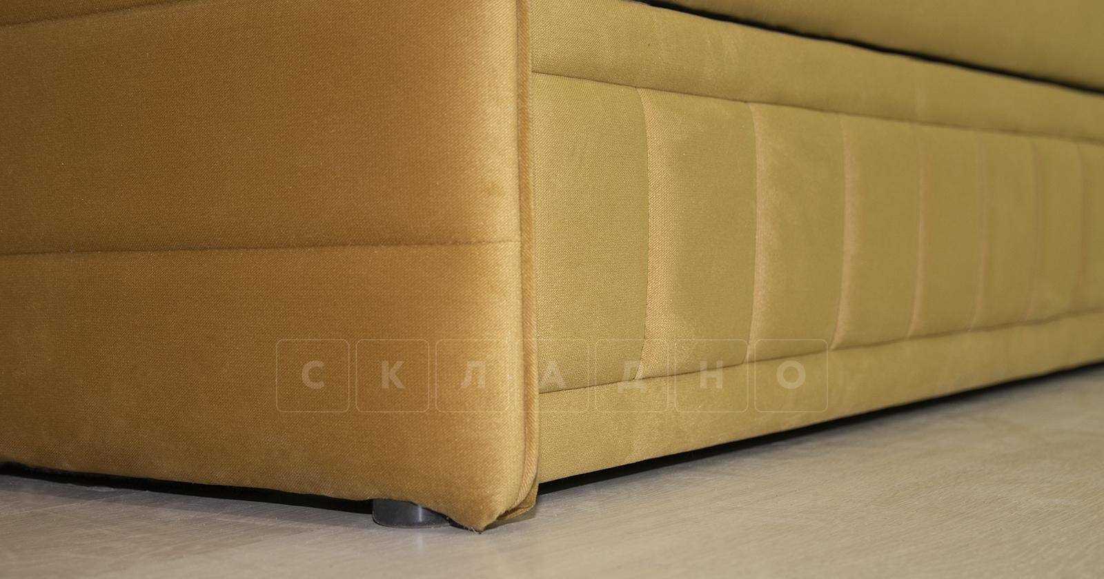 Диван-кровать Дикси горчичный фото 9   интернет-магазин Складно