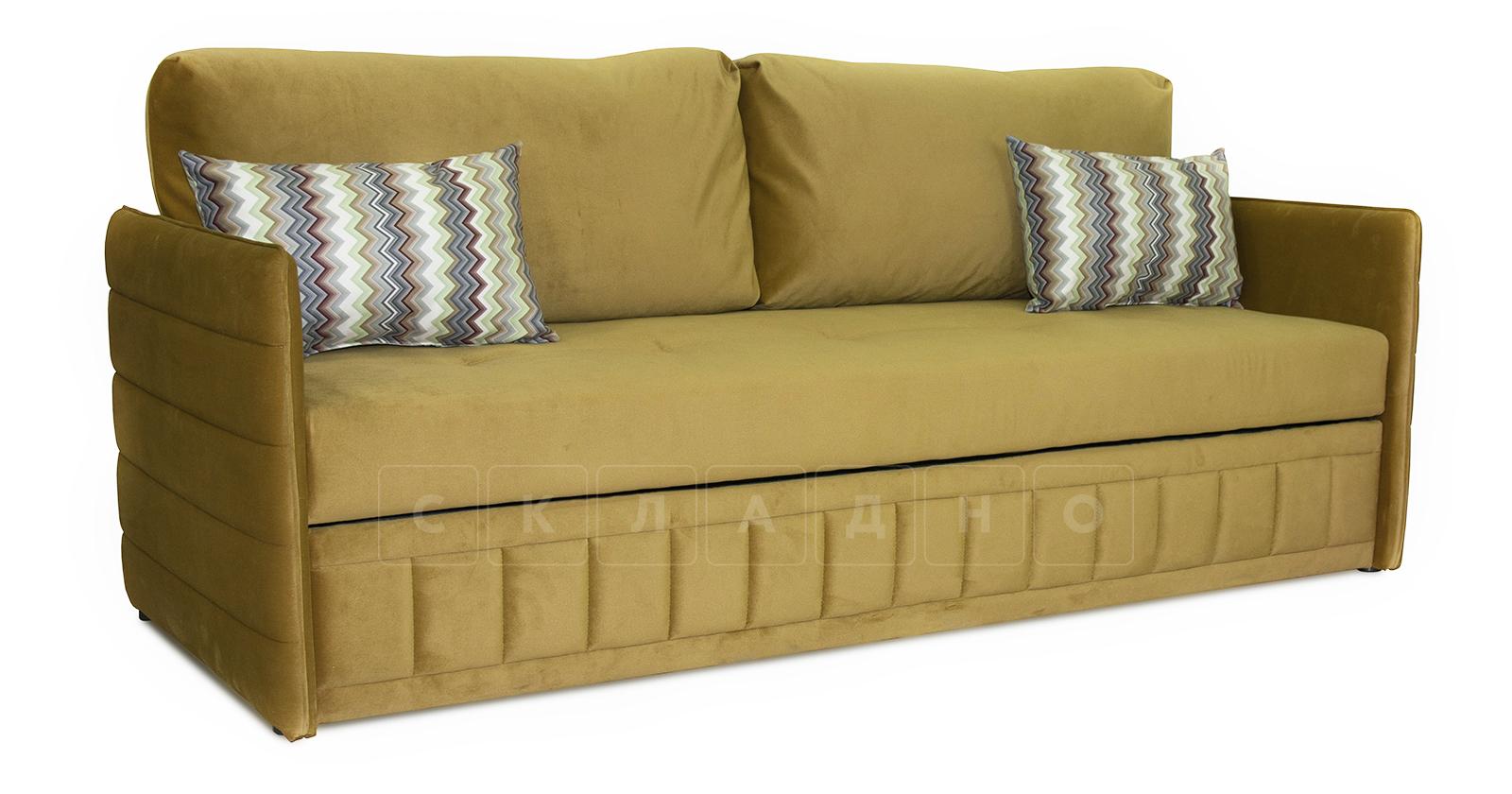 Диван-кровать Дикси горчичный фото 1   интернет-магазин Складно