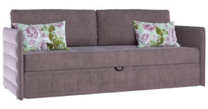 Диван-кровать Дикси серо-розовый-15532 фото | интернет-магазин Складно