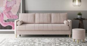 Диван-кровать Лорен пудровый 39400 рублей, фото 2   интернет-магазин Складно