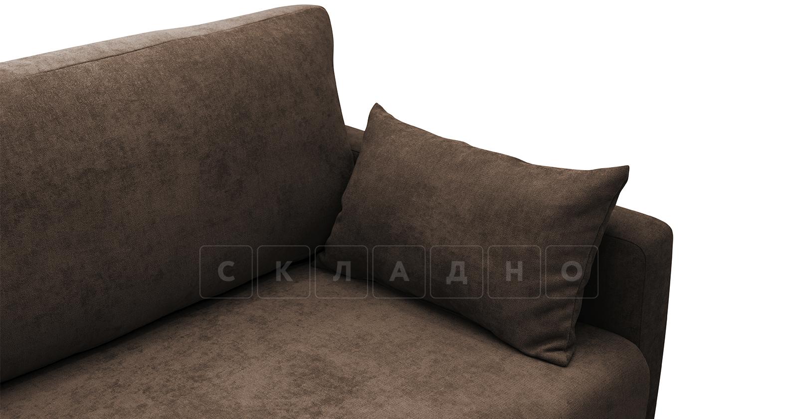 Диван еврокнижка Дарвин коричневый фото 8 | интернет-магазин Складно