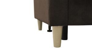 Диван еврокнижка Дарвин коричневый 36650 рублей, фото 9 | интернет-магазин Складно