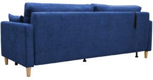 Диван еврокнижка Дарвин темно-синий 38570 рублей, фото 3   интернет-магазин Складно