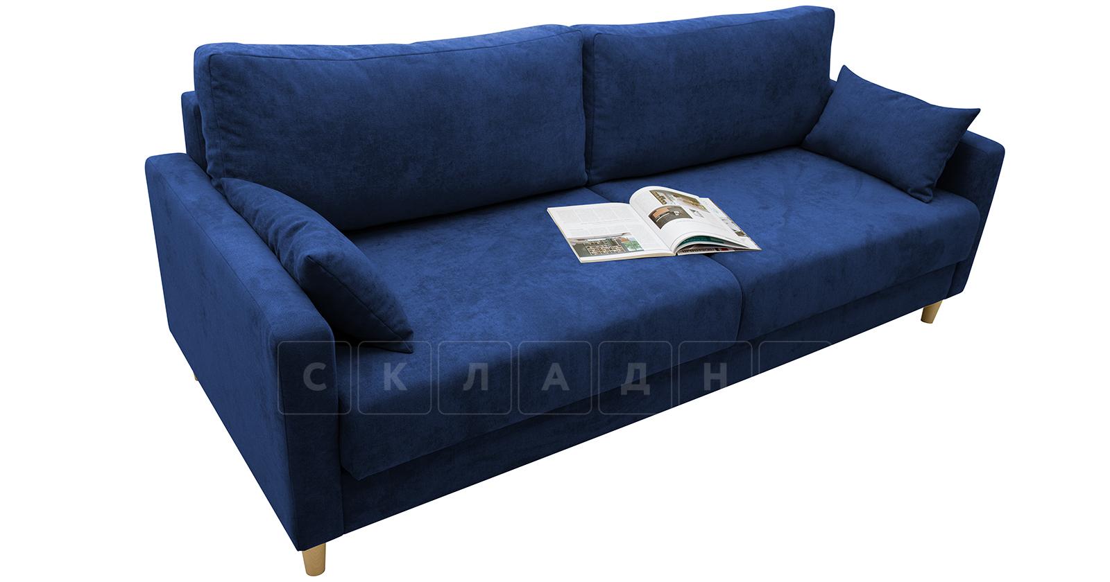 Диван еврокнижка Дарвин темно-синий фото 6   интернет-магазин Складно