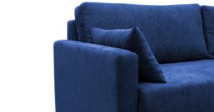 Диван еврокнижка Дарвин темно-синий 38570 рублей, фото 8   интернет-магазин Складно