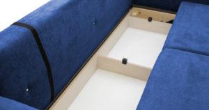 Диван еврокнижка Дарвин темно-синий 38570 рублей, фото 10   интернет-магазин Складно